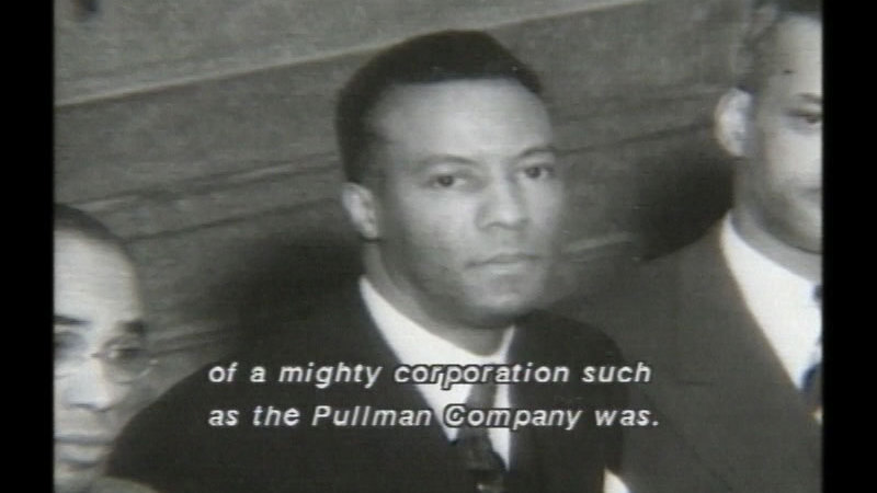 Still image from A.  Philip Randolph: For Jobs And Freedom