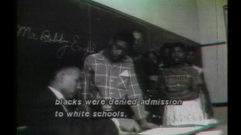 Still image from The Strange Demise of Jim Crow