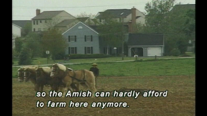 Still image from The Amish and Us