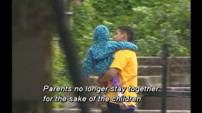 Still image from: Love on the Rocks: Divorce Made Simple