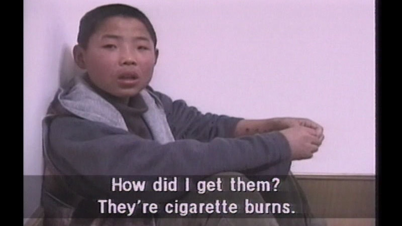 Still image from Shadows and Whispers: The Struggle of North Korea's Refugees