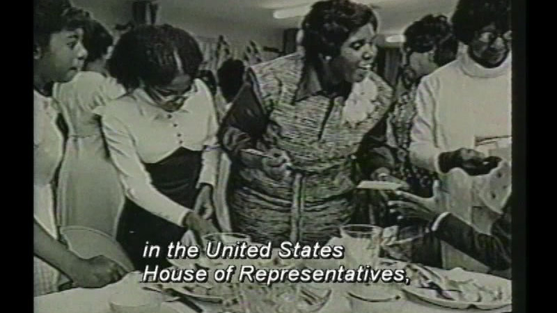 Still image from Barbara Jordan