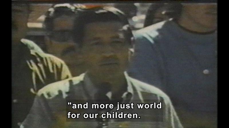 Still image from: Cesar E. Chavez