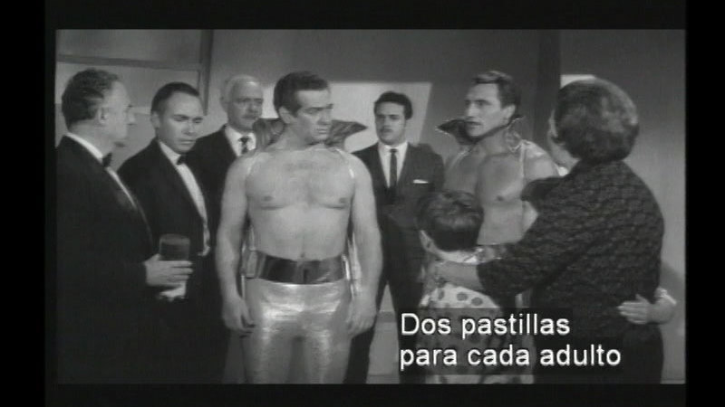 Still image from: Santo The Silver Masked Man Vs. The Martian Invasion (Spanish)