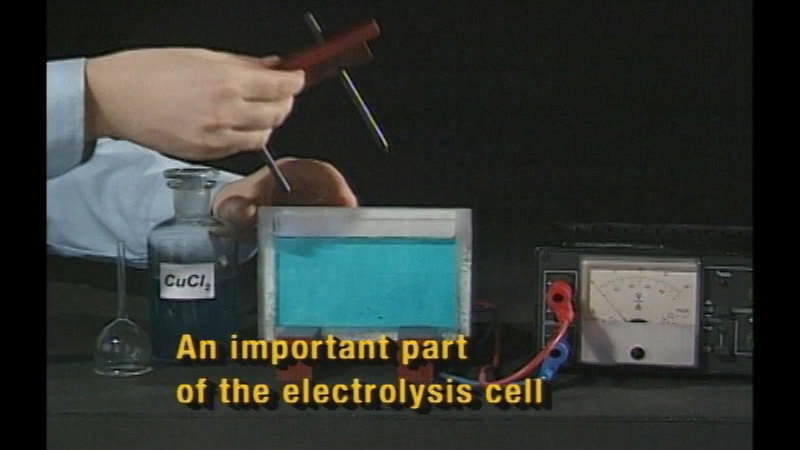 Still image from Electrolysis & Corrosion