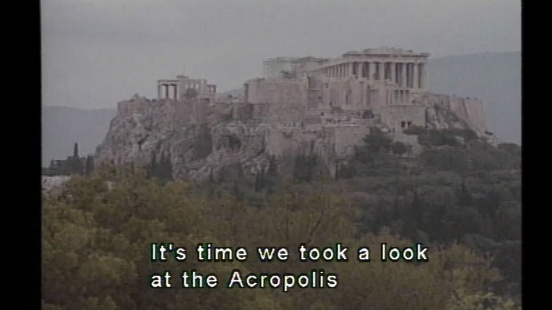 Still image from: Athens & Ancient Greece