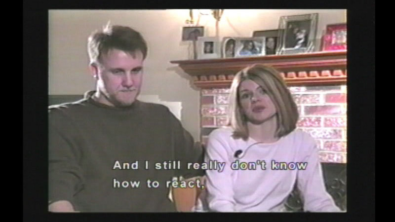 Still image from Our Baby Is Deaf...Five Families' Stories (Family Version)