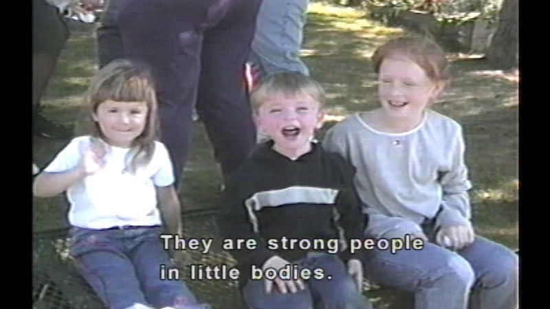 Still image from: Our Baby Is Deaf...Five Families' Stories (Professional Version)