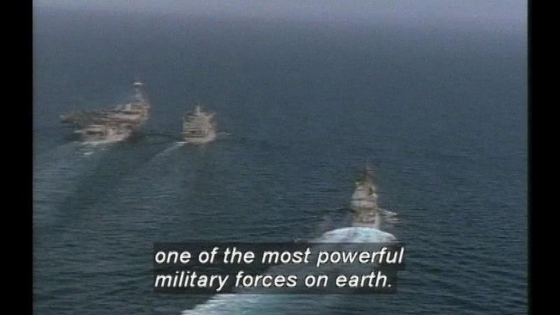 Still image from: Battle Alert In The Gulf