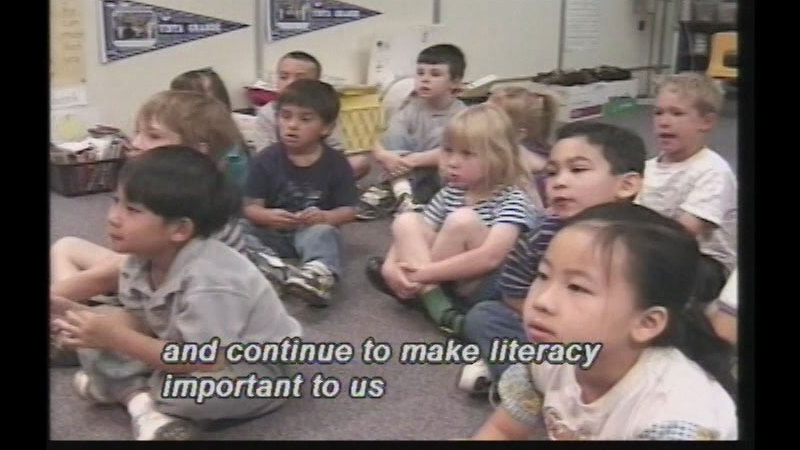 Still image from Building Literacy Competencies In Early Childhood