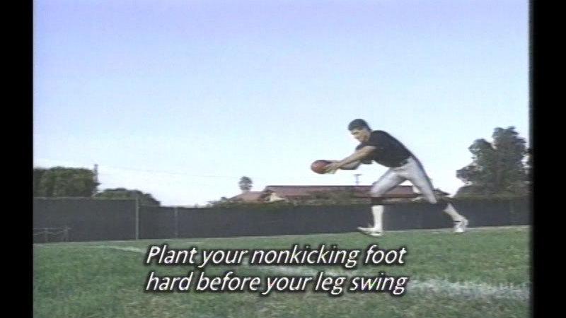 Still image from Jeff Gossett: Punt Like A Pro