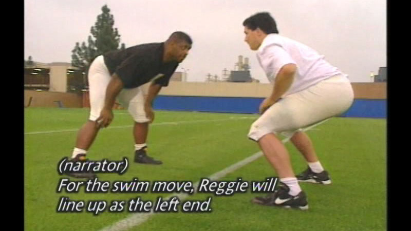 Still image from Reggie White: The Minister Of Defense