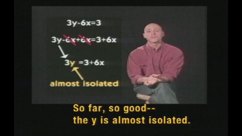 Still image from Algebra: Functions