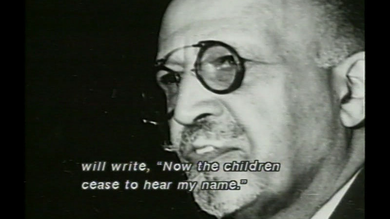 Still image from W.E.B. DuBois: A Biography In Four Voices