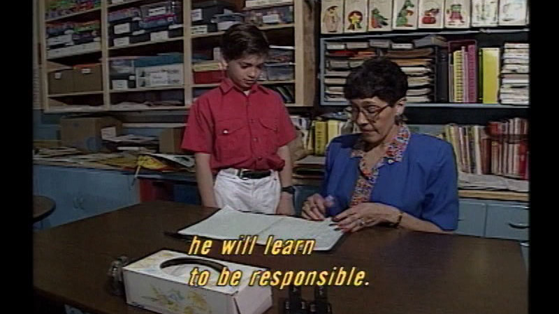 Still image from Successful Parenting: Discipline Makes The Difference
