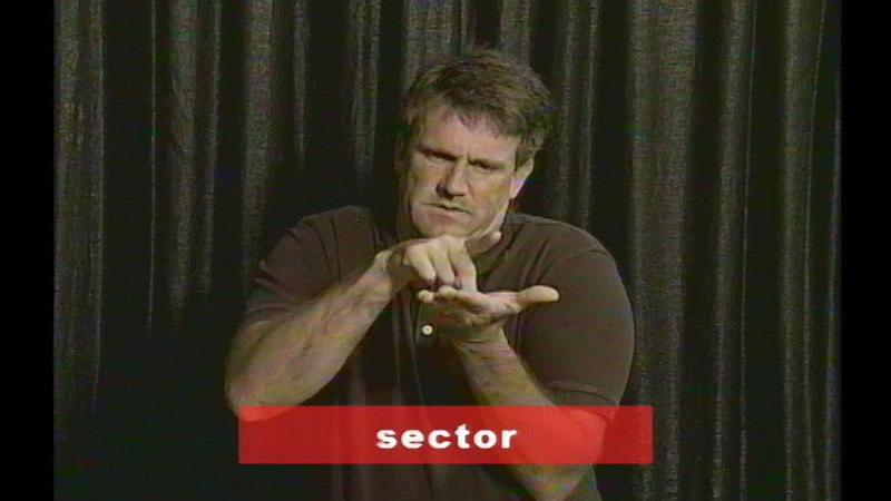 Still image from Vocabulary Builders In Sign Language: Computers
