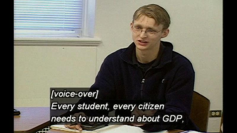 Still image from The Economics Classroom: The Building Blocks Of Macroeconomics
