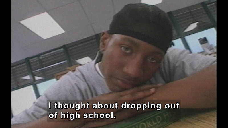 Still image from: The Teen Files Flipped: High School Dropout