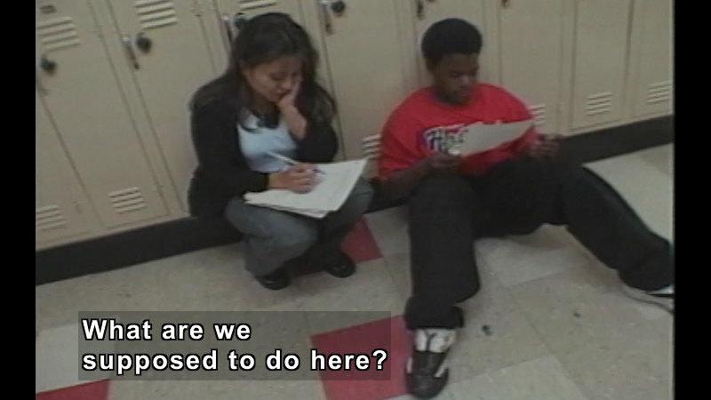 Still image from: The Teen Files Flipped: Student/Teacher