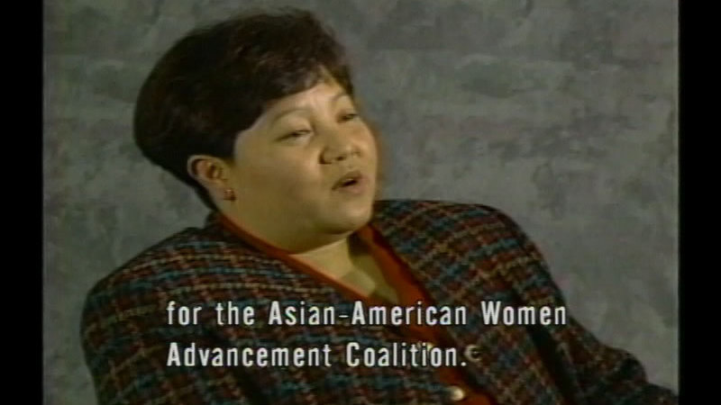 Still image from Voices Of Challenge: Hmong Women In Transition