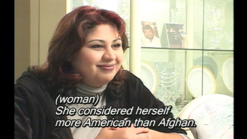Still image from: With Us Or Against Us: Afghan-Americans Since 9/11