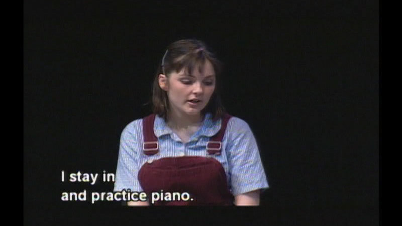 Still image from: Playing From The Heart