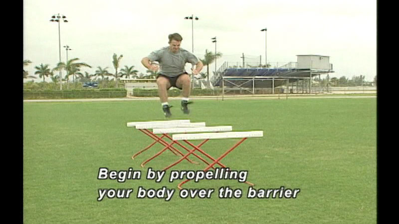 Still image from: Drills For Speed, Agility, Quickness