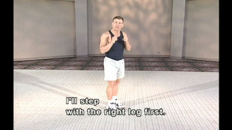 Still image from: Teaching Martial Arts For Fitness And Fun: A Noncontact Approach For Young People