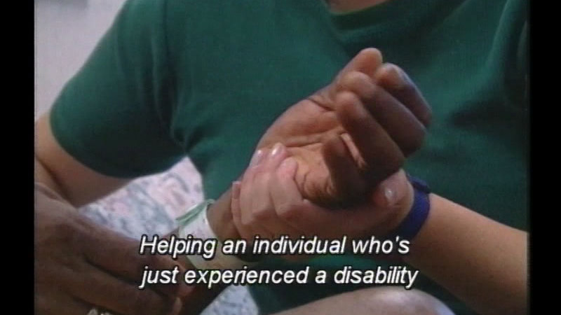 Still image from: Rehabilitation