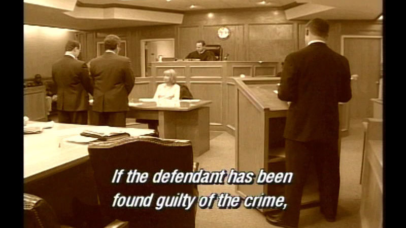 Still image from Order In The Court