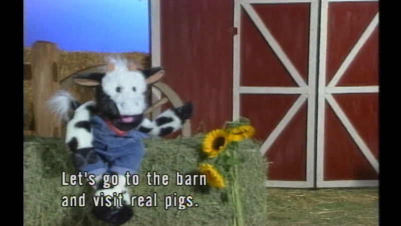 Still image from Wilbur Visits The Farm