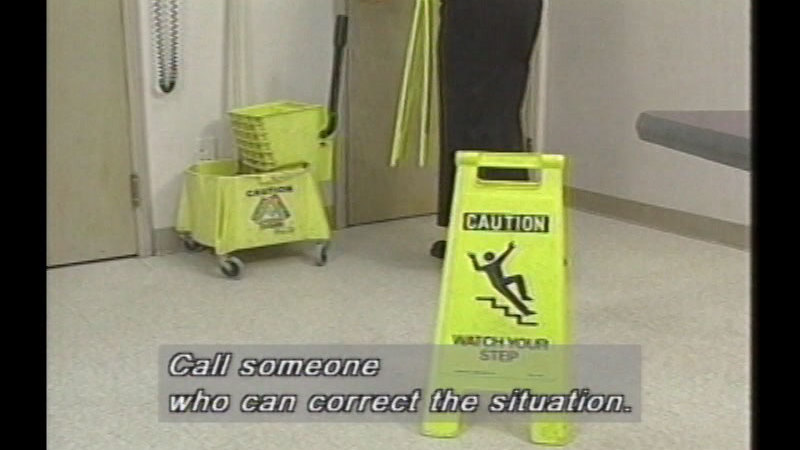 Still image from Working Safely In The Office
