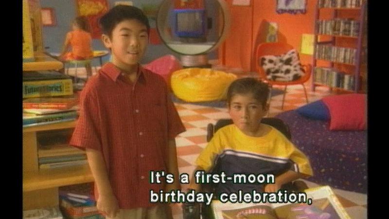 Still image from Henry's First-Moon Birthday