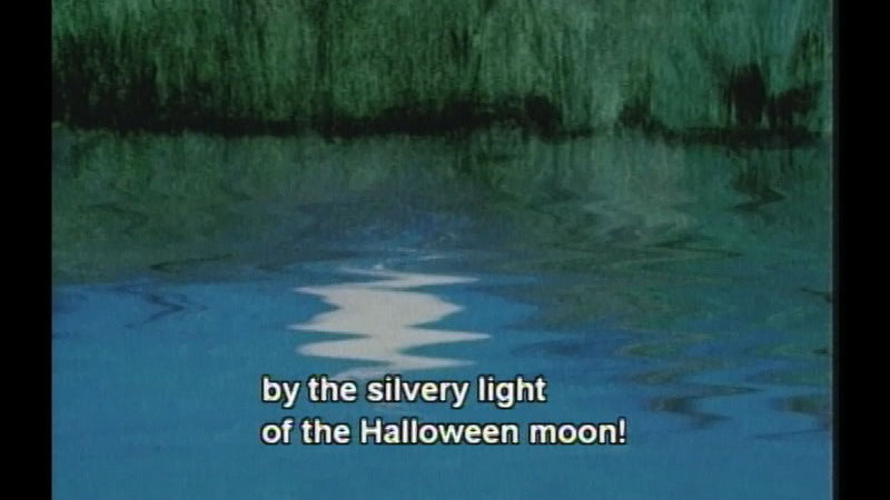 Still image from: By the Light of the Halloween Moon
