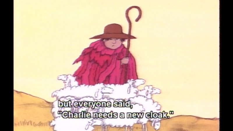Still image from Charlie Needs A Cloak