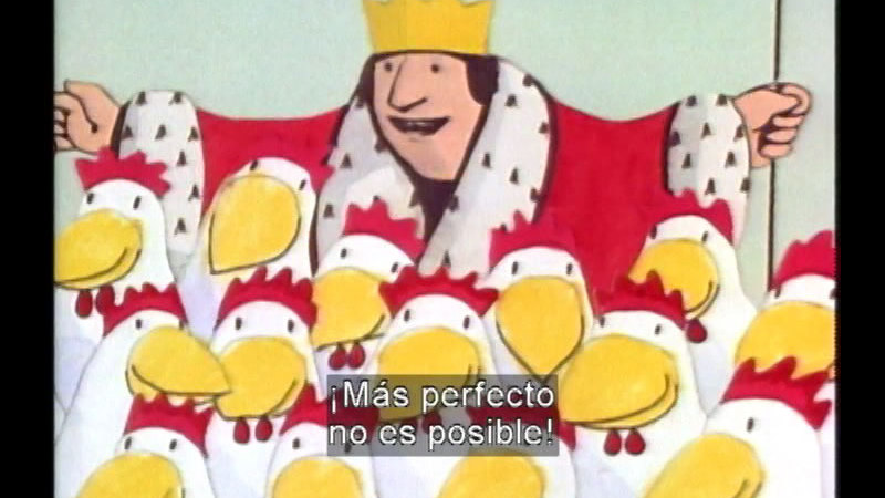 Still image from The Most Wonderful Egg in the World (Spanish)