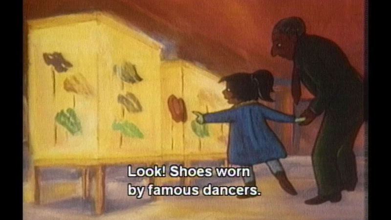 Still image from: The Red Shoes