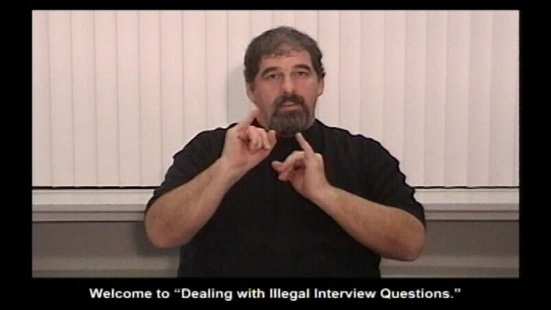 Still image from Dealing With Illegal Questions