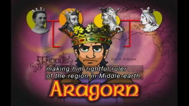 Still image from Rings, Kings & Things: Program 2