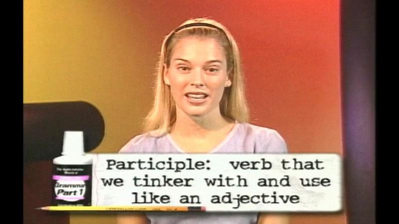 Still image from: The Split-Infinitive World Of English Grammar: Program 3