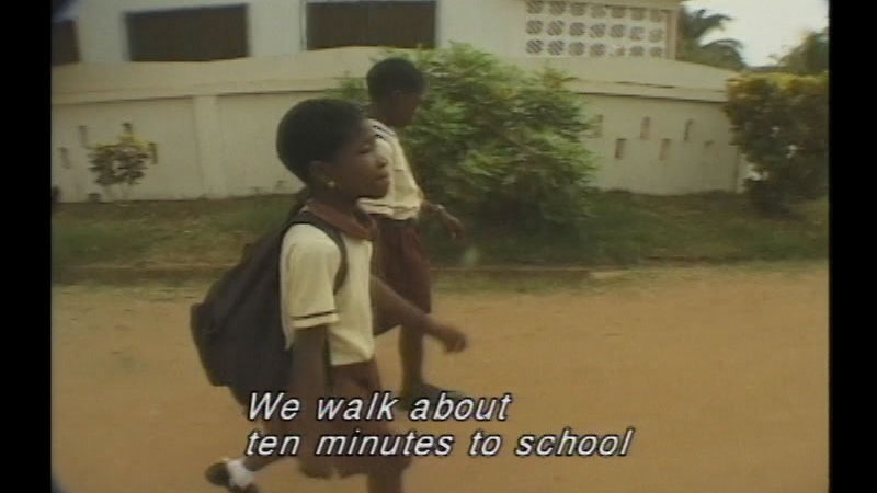 Still image from: Families Of Ghana
