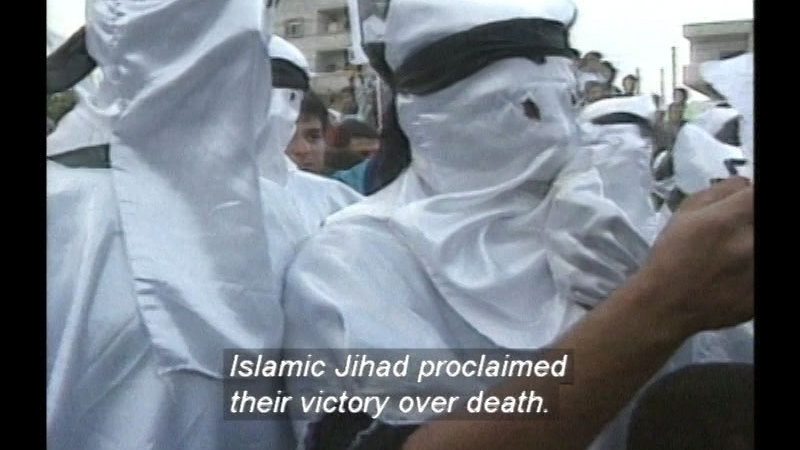 Still image from: Suicide Bombers: Secrets Of The Shaheed