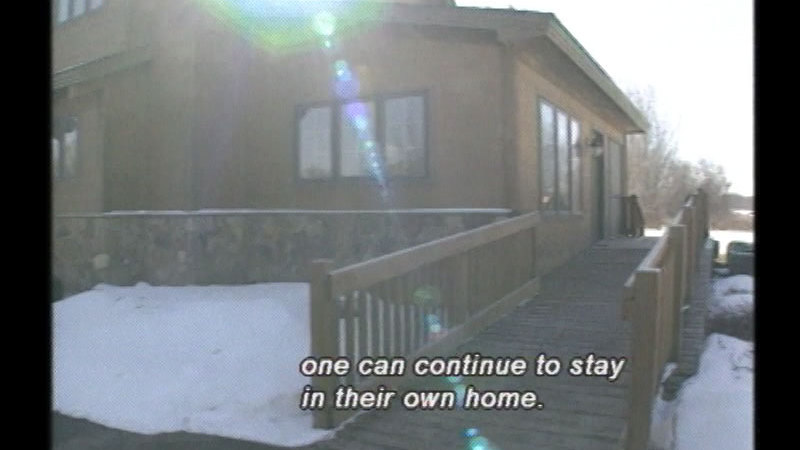 Still image from Successful Aging: Adapting Homes To Successfully Age In Place