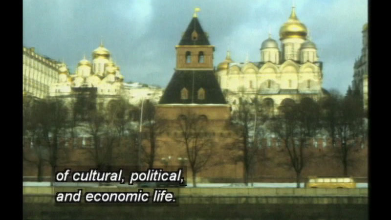 Still image from Teaching Geography: Workshop 6--Russia