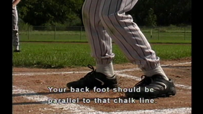 Still image from The Fundamentals of Baseball