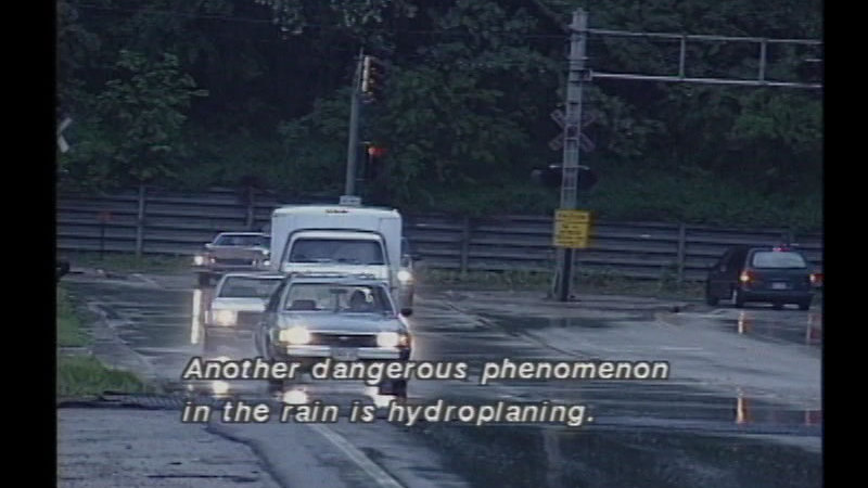 Still image from: Driving in Bad Weather