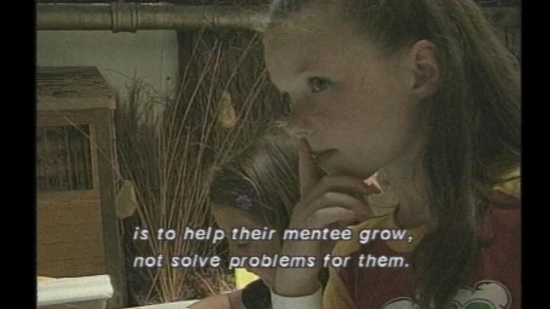 Still image from: Mentoring