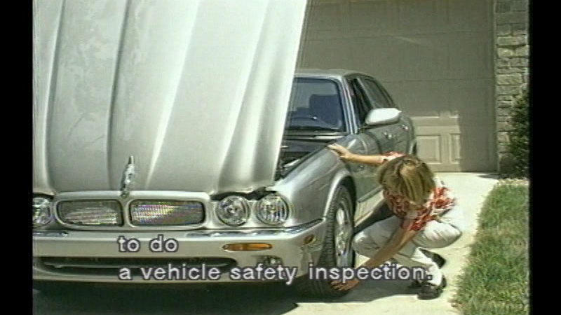 Still image from Vehicle Safety: Be Prepared