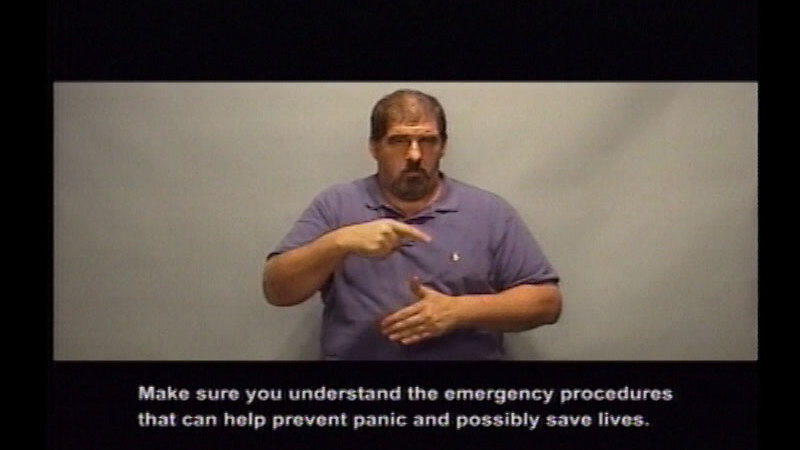 Still image from Driver's Education:  Part 13--Vehicle Emergencies