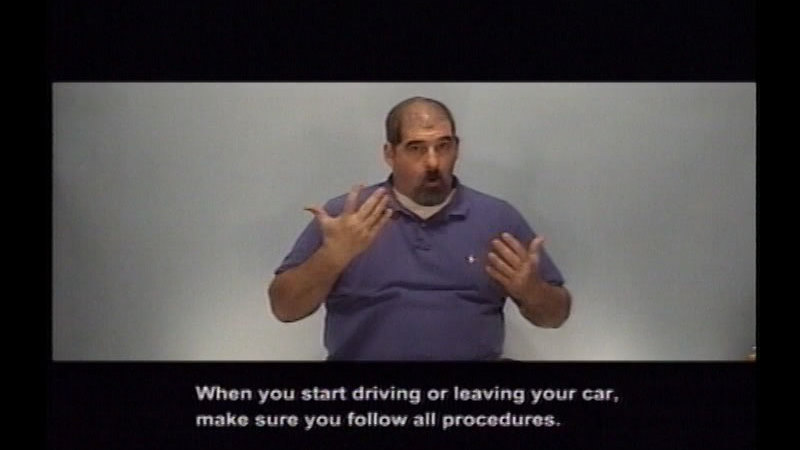 Still image from Driver's Education:  Part 3--Introduction To Control Devices